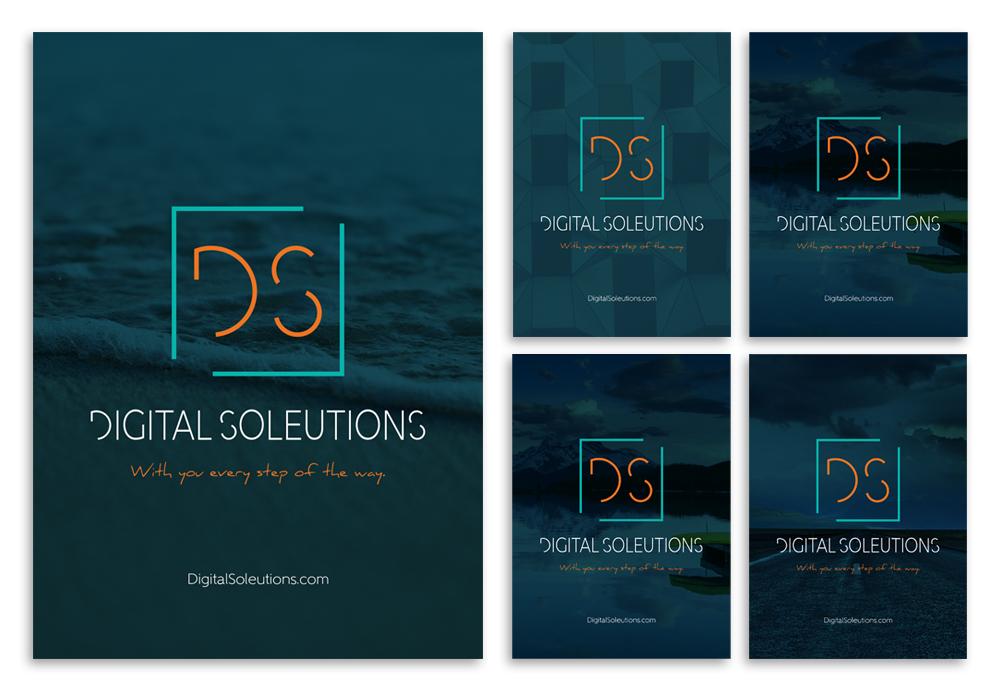 Digital Soleutions branding
