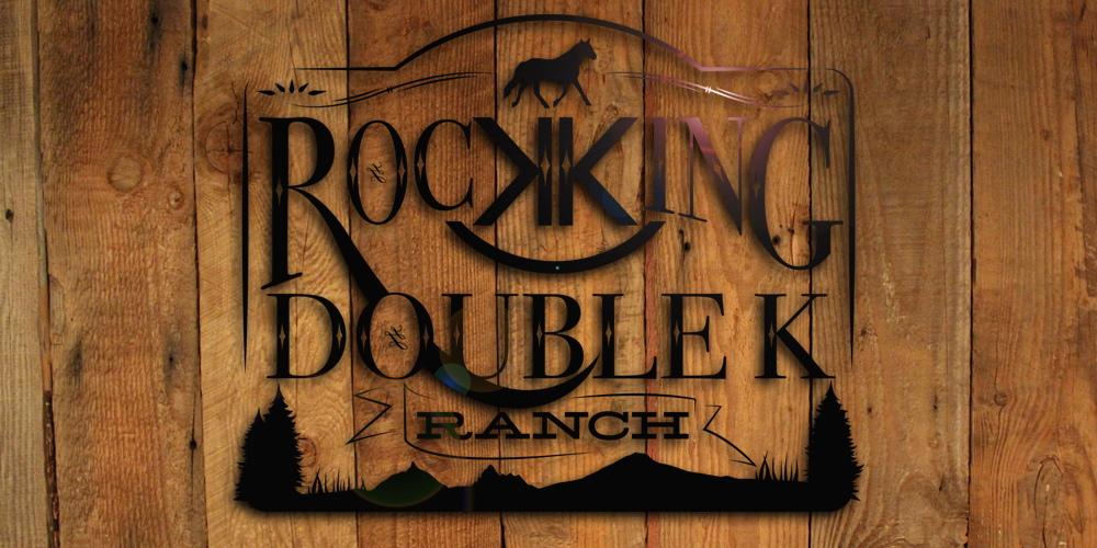 Rocking Double K Ranch branding
