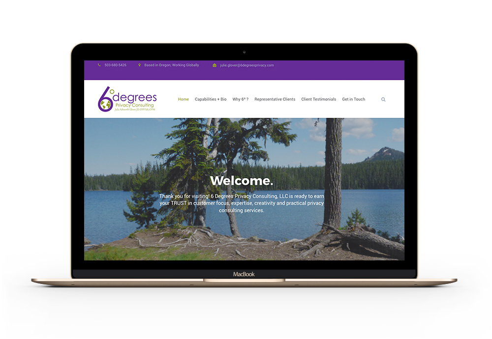 6Degrees Privacy website