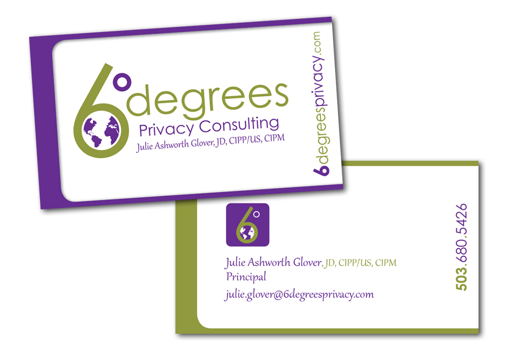 6Degrees Privacy business cards