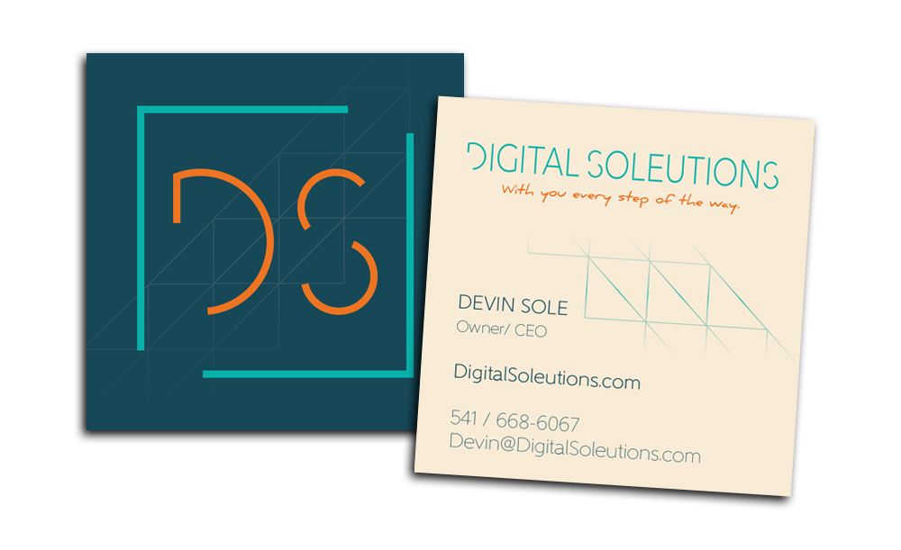 Digital Soleutions branding