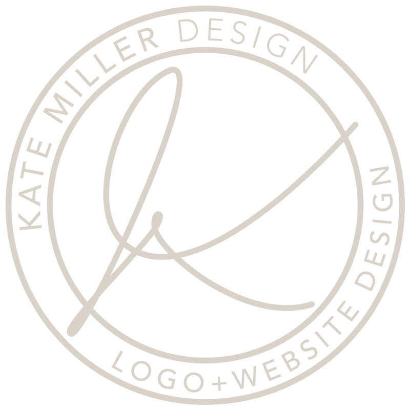 Kate Miller Design logo head