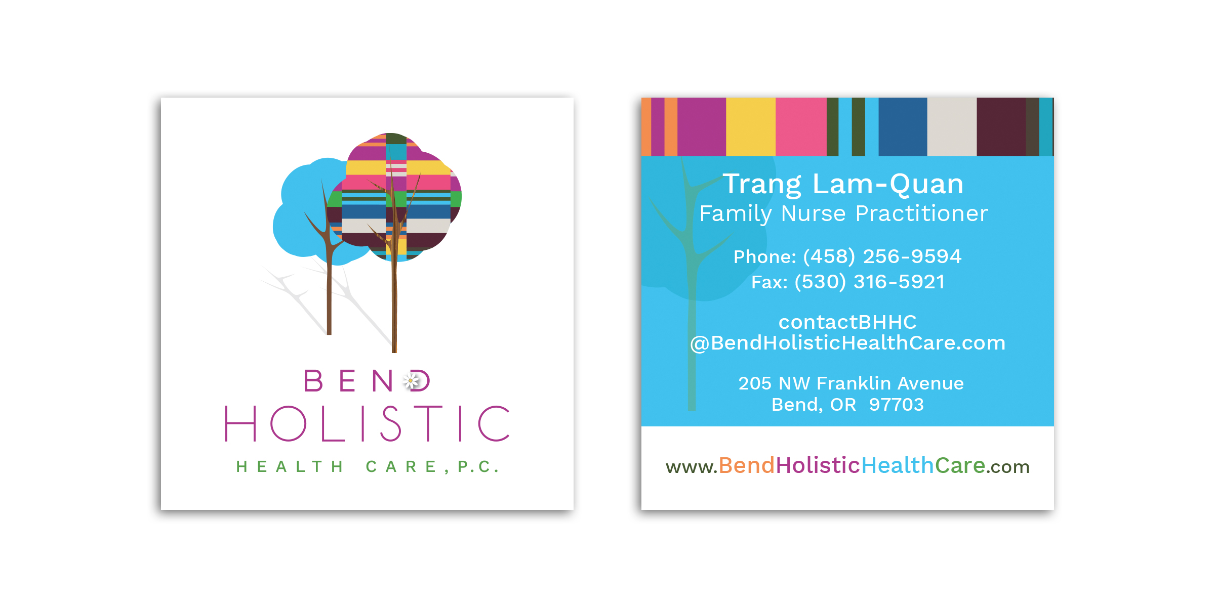 Bend-Holistic-Health-Care-business-cards