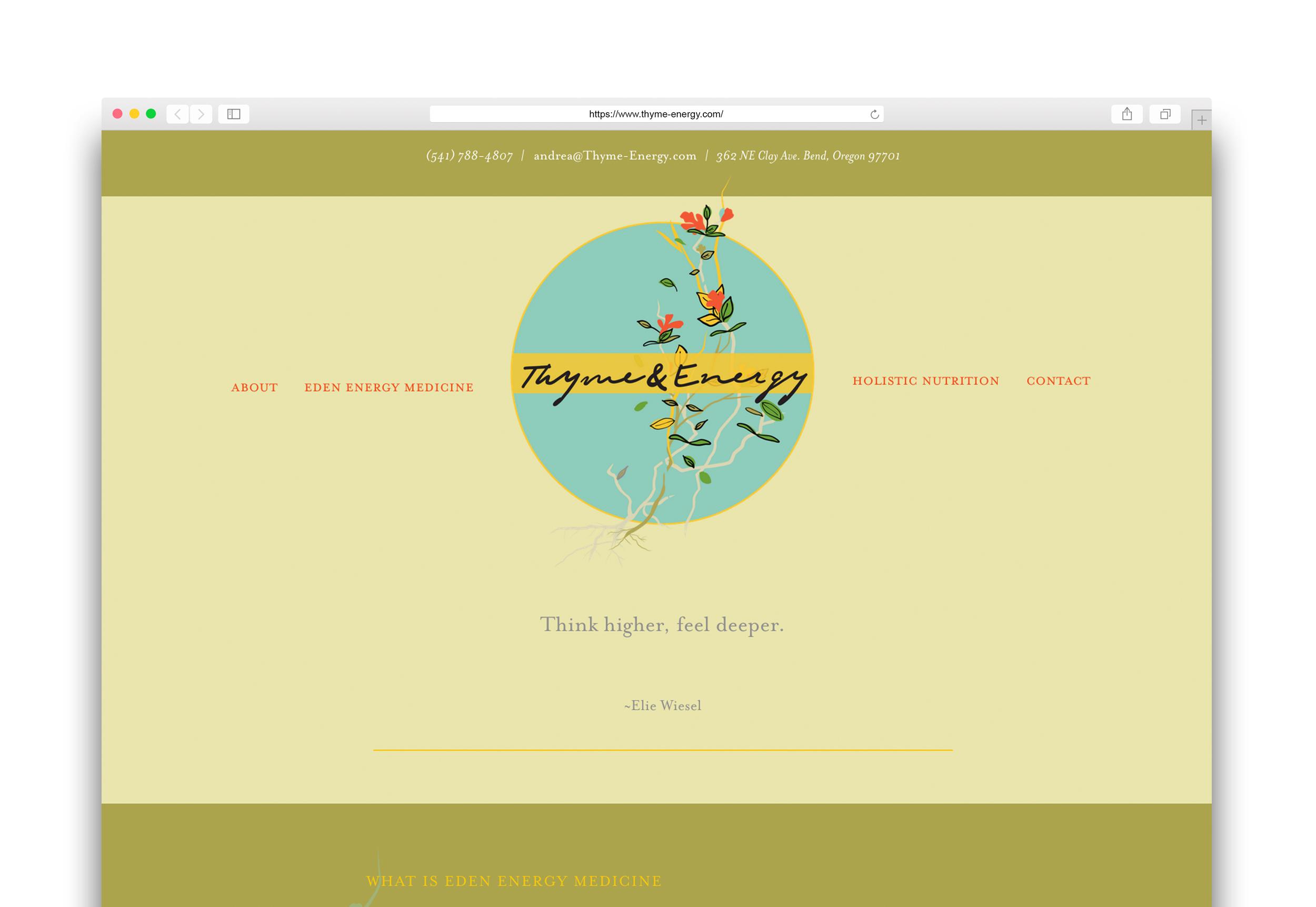 Thyme-Energy-website
